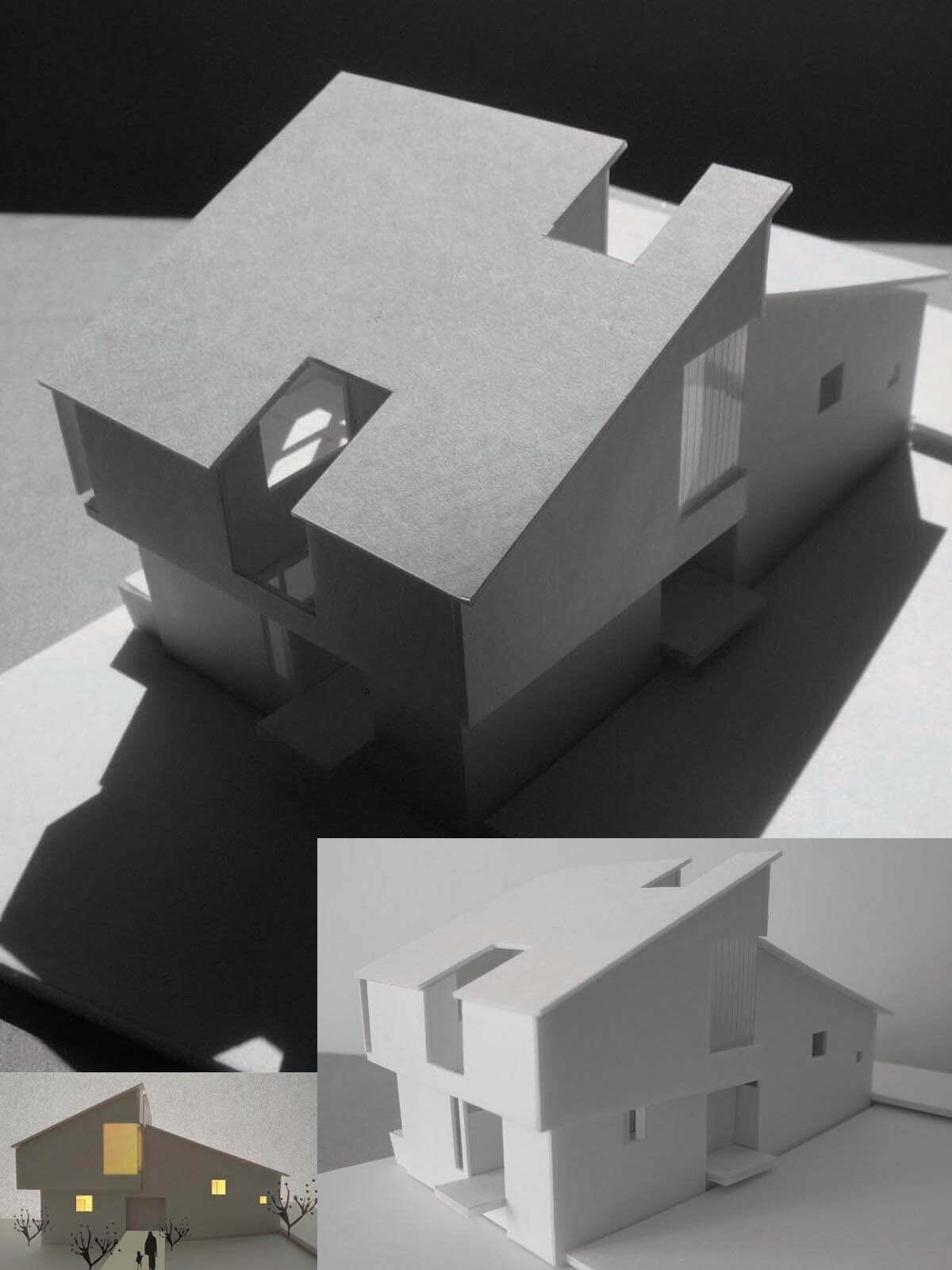 緑区A邸模型
