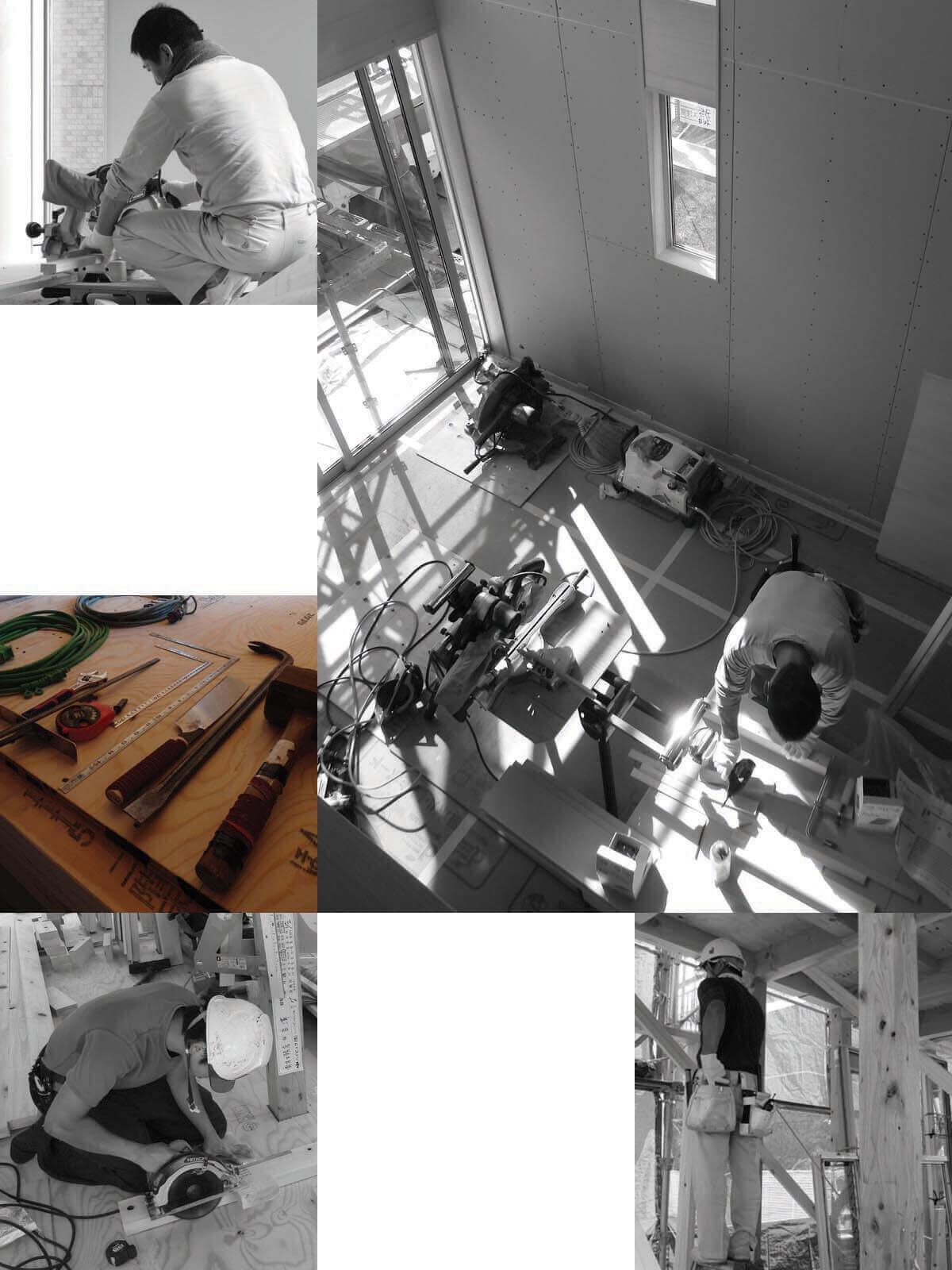 登戸Y邸、内装工事