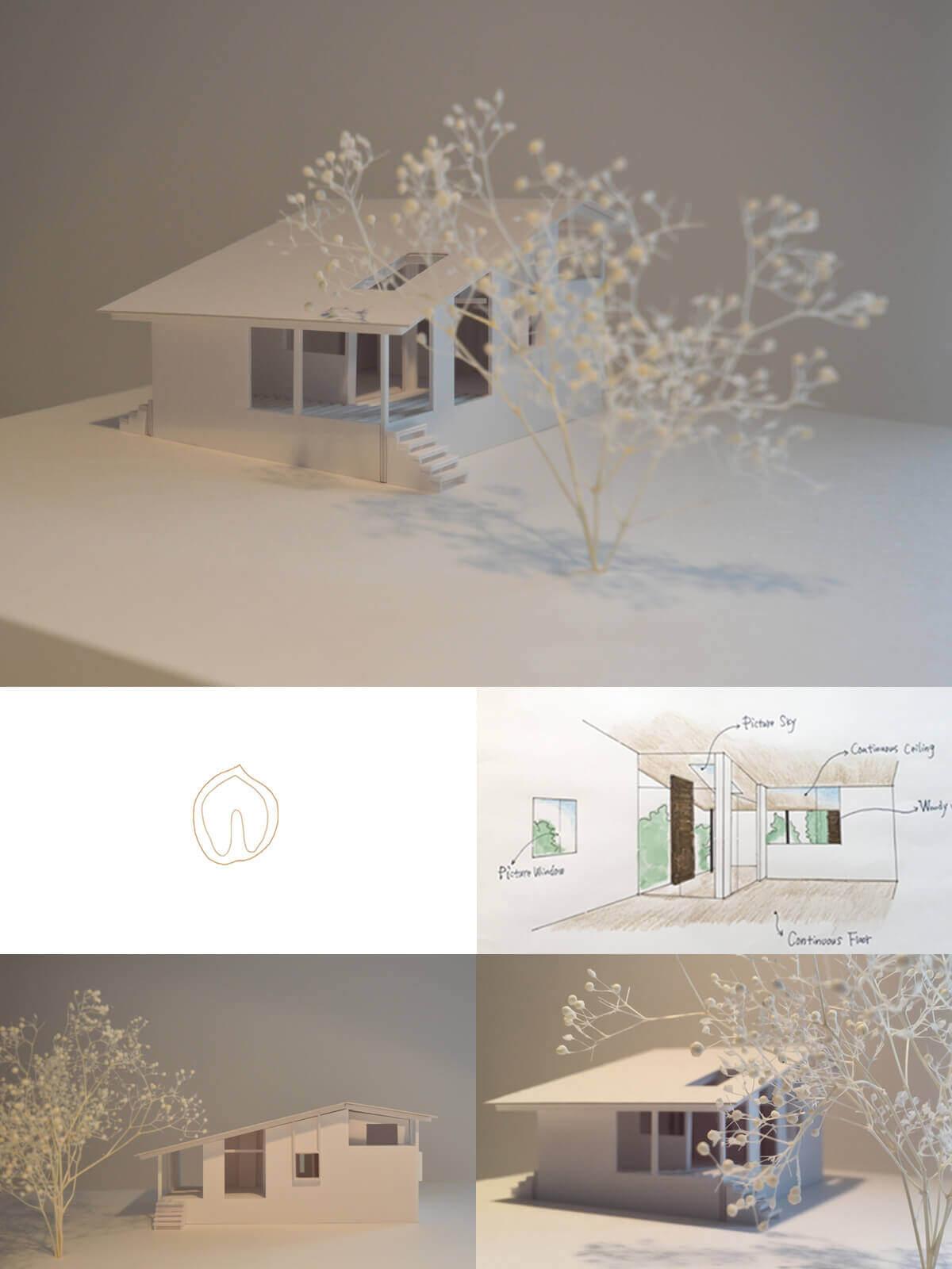 小淵沢K邸は視線と素材で繋がるLDとアウトドアリビング