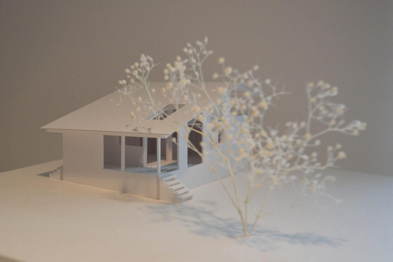 小淵沢K邸の初案