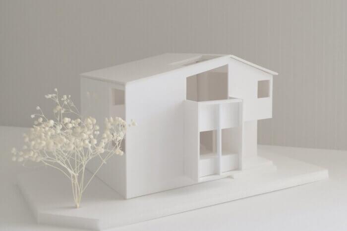 狛江S邸 模型写真01