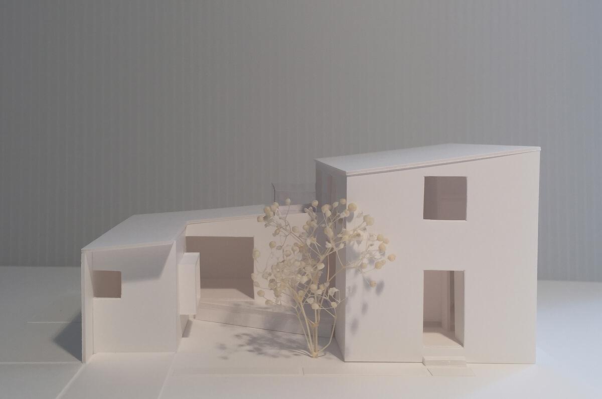 つくばH邸 最終模型