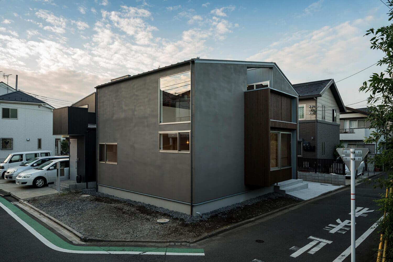 狛江S邸 昼間の東南からの外観