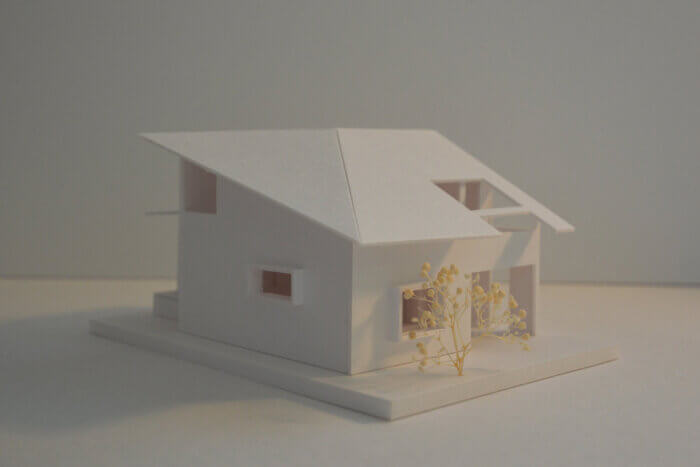 浦和S邸 模型写真
