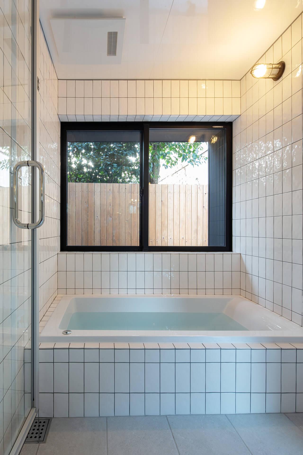 江古田K邸 浴室