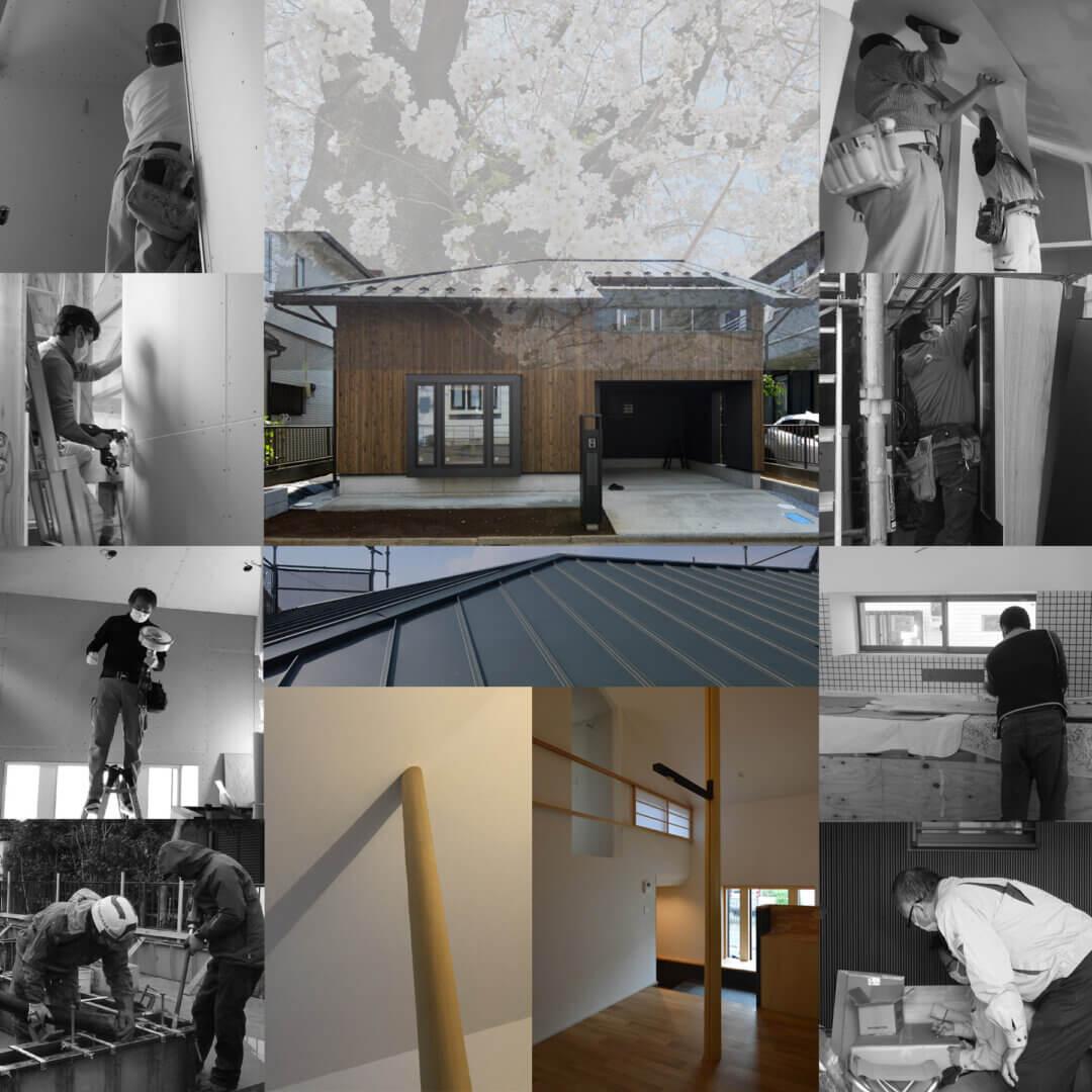 浦和S邸 内装工事過程